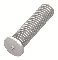 Flanged Aluminum Capacitor Discharge Weld Studs (UNC & UNF) (Thread Size - 10-24)